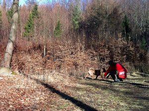 Morcheeba z panciem na spacerze